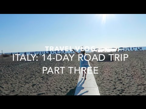 ITALY ROAD TRIP VLOG: PART THREE - CINQUE TERRE - TUSCANY -