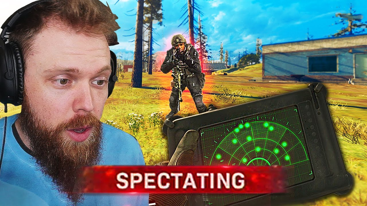I Spectated a BOT lobby and Interviewed the Winner in Warzone Solos...
