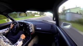 Toyota Supra MKIV 2JZ GTE 450hp Cruise (GoPro External mic Test)