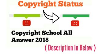 Gambar cover YouTube Copyright School All Question With Answer 2018