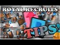 Royal Recruit Draft Challenge Gameplay Tips! | Clash Royale 🍊