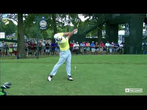 Hideki Matsuyama's Golf Swing Secret Move Super Slow Motion FO 2017 PGA Championship
