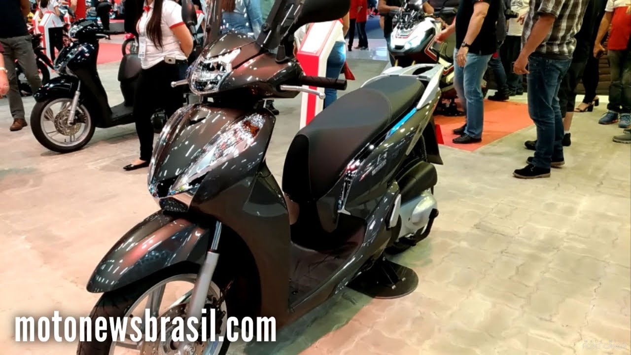 new 2018 honda sh300i walkaround sao paulo moto show. Black Bedroom Furniture Sets. Home Design Ideas