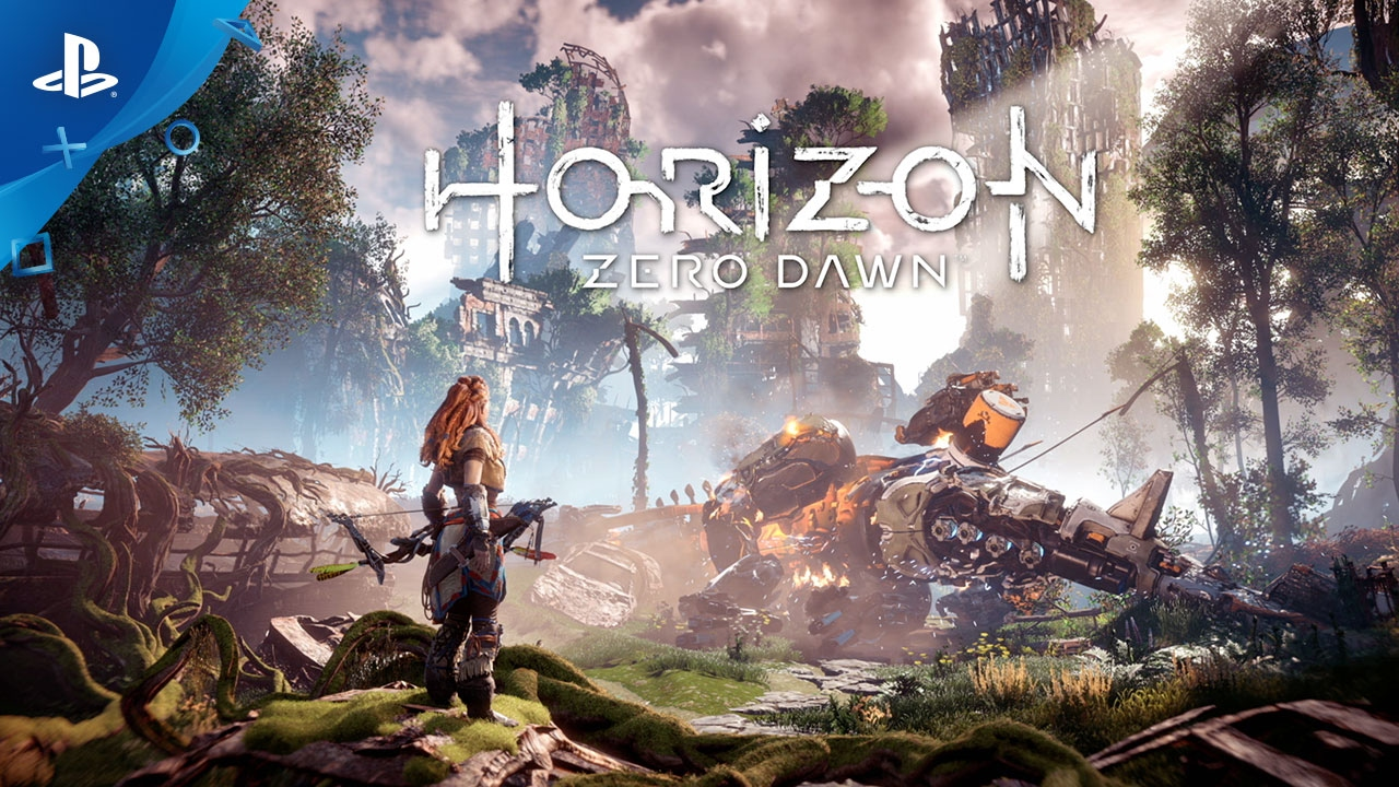 horizon zero dawn earth is ours no more trailer ps4 youtube