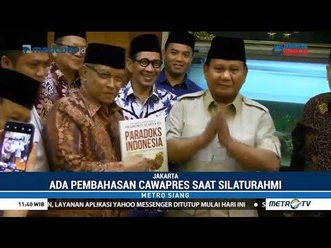 Prabowo Subianto Temui Said Aqil di Kantor PBNU