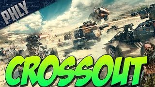CROSSOUT BETA GAMEPLAY - War Thunders NEW GAME! (Crossout Gameplay)