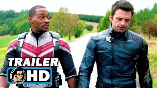 THE FALCON AND THE WINTER SOLDIER Trailer | NEW (2021) Marvel Series
