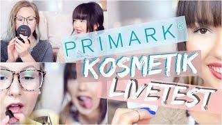 PRIMARK Schminke LIVE TEST ✅ Make Up, Kosmetik | ViktoriaSarina