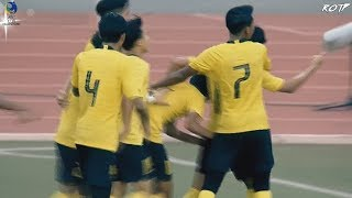 Thailand 0 - 1 Malaysia (Highlight HD - AFC U19 2020 Qualify - 10/11/2019)