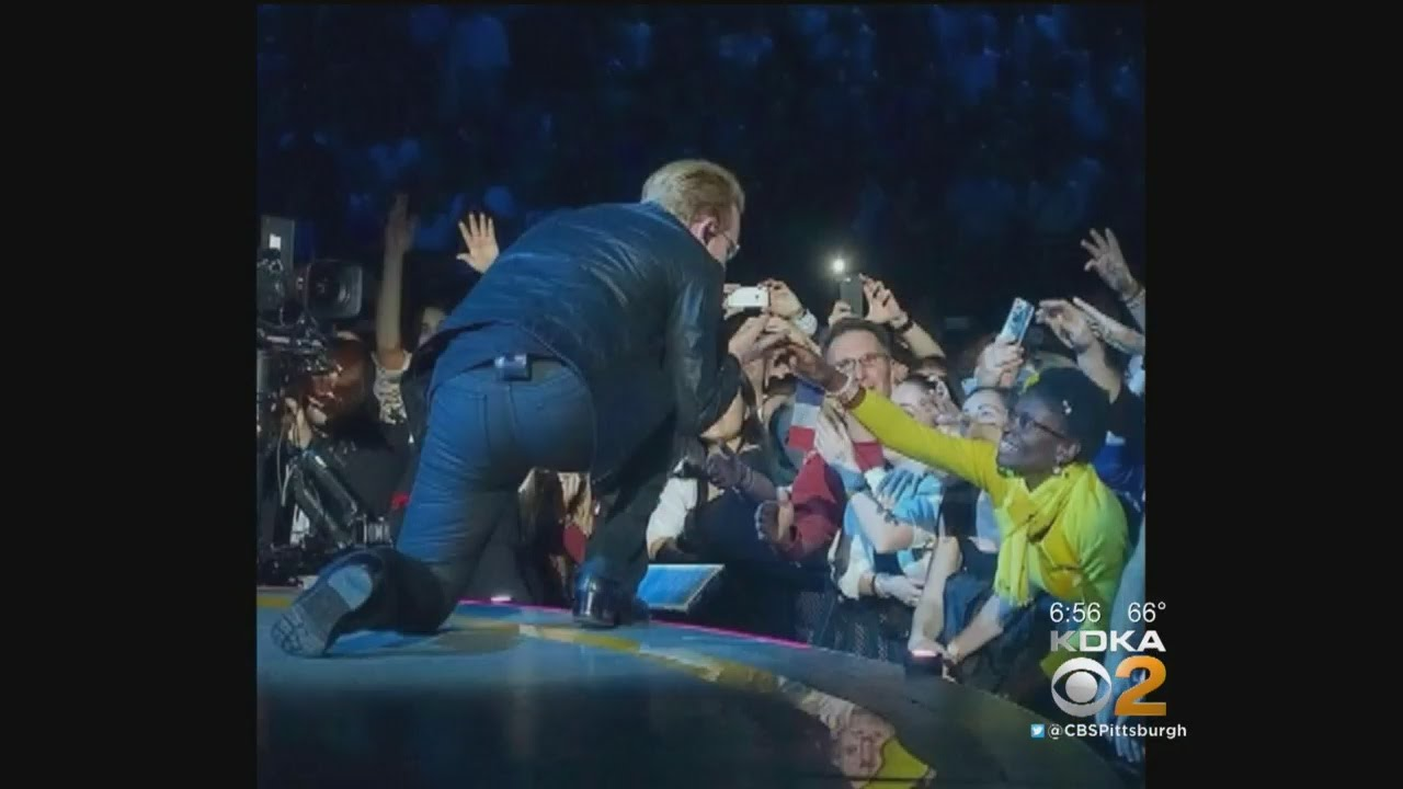 Fans Excited To Get Best Seats For U2 Concert