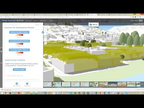 An Overview of 3D Solutions for Proposed Developments