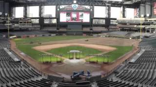 D-backs Chase Field time-lapse