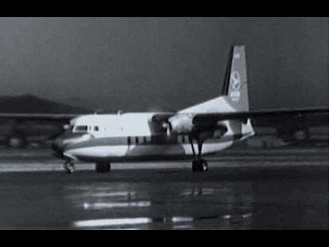 "Aloha Fairchild F-27 Friendship - ""Take-off Honolulu"" - 1961"