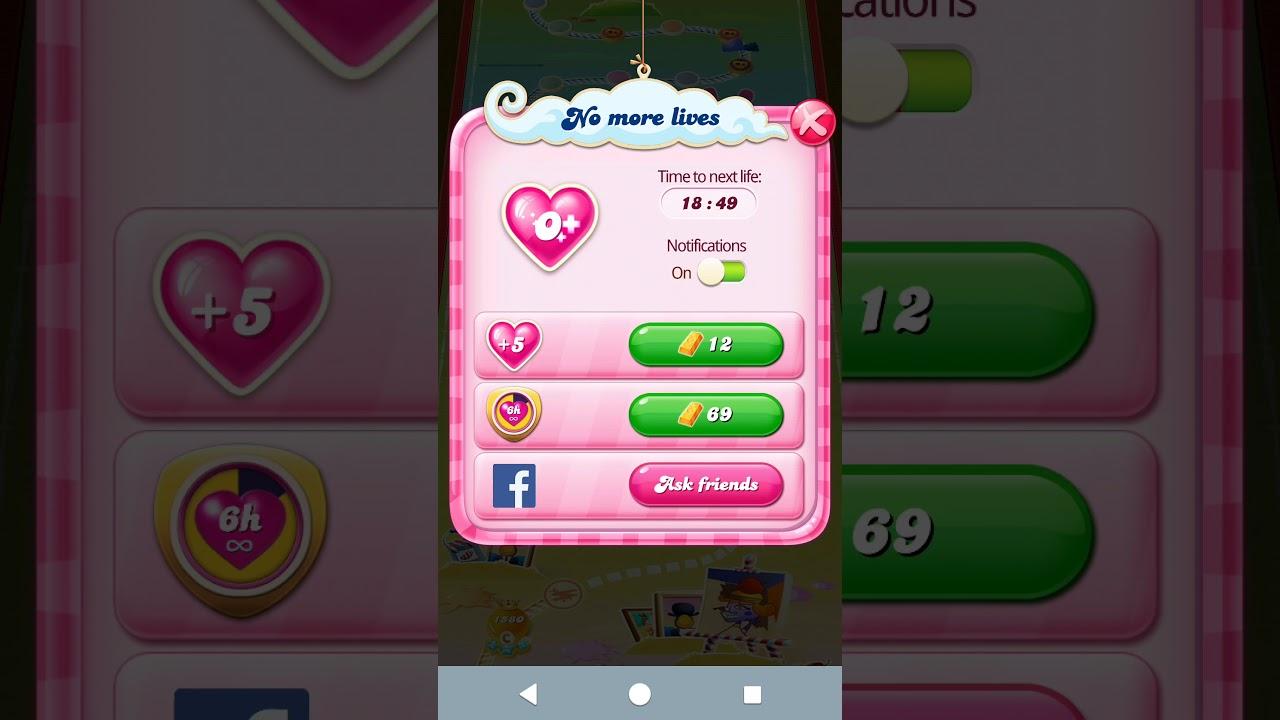 Cách Hack Tim Game Candy Crush Saga Không Bao Giờ Hết