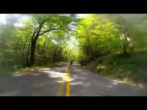 May Motorcycle Trip From Cincinnati to Red River Gorge