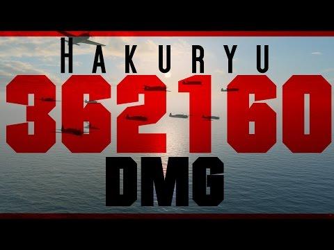 Hakuryu - 362K DMG- !!! - HIGHEST i have seen so far  :-) World of Warships replay