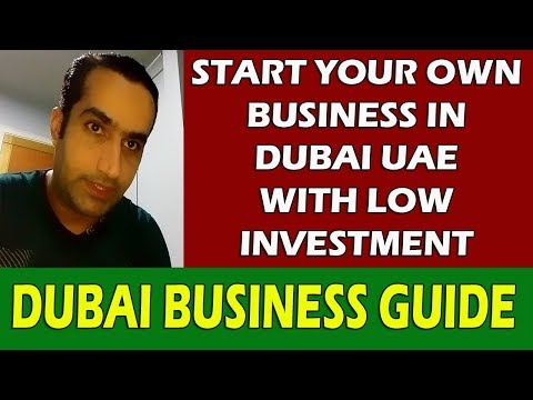 Low Investment Business In Dubai Ideas