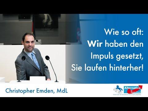 Wir agieren, Sie reagieren! Christopher Emden, MdL (AfD) zum Informationsfreiheitsgesetz