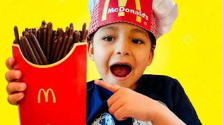 Magic McDonald's Happy Meal Chocolate French Fries
