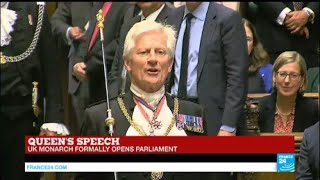Britain  UK monarch formally opens parliament