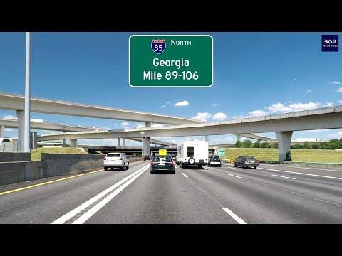 Road Trip #312 - I-85 North - Georgia Mile 89-106