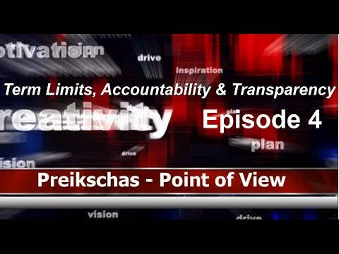 Episode 4 - Term Limits & Accountability