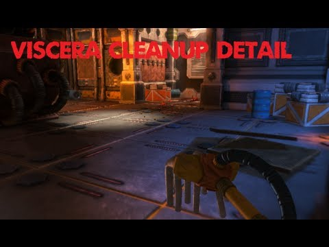 Minx Plays   Viscera Cleanup Detail   Janitor Simulator!
