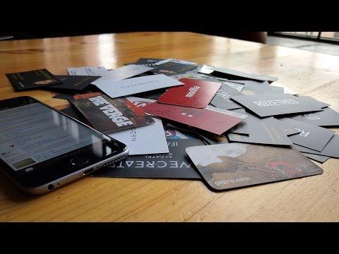ABBYY Business Card Reader — приложение вместо визитницы