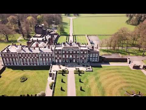 Marry Me Films drone footage of the Knowsley Estate