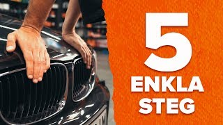 Reparera din bil själv - video tips