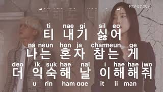 [KARAOKE] Jonghyun ft Taeyeon - Lonely