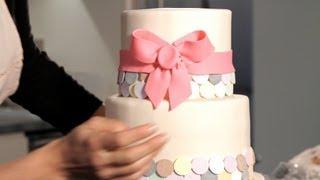 How to Make a Fondant Ribbon & Bow | Wedding Cakes