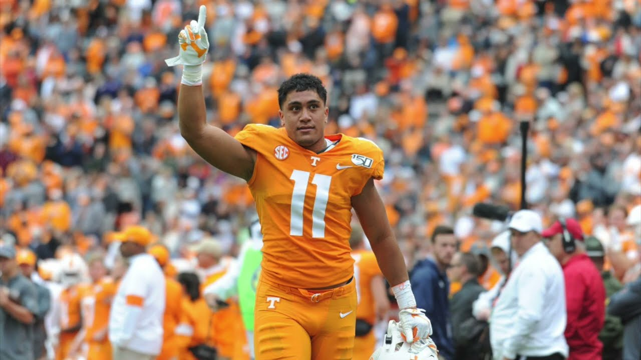 UPDATE: Alabama picks up Tennessee transfer LB Henry To'oto'o