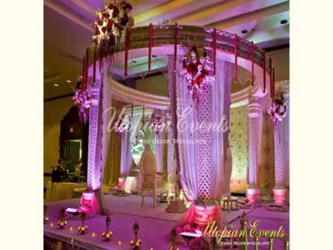 Indian Wedding Mandap Decoration New