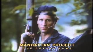 The Manhattan Project Trailer 1986