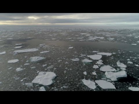 Arctic sea ice isn't freezing in October for the first time on record