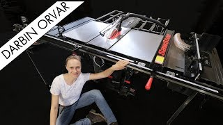 What Does A Totally Decked Out SawStop Tablesaw Look Like?