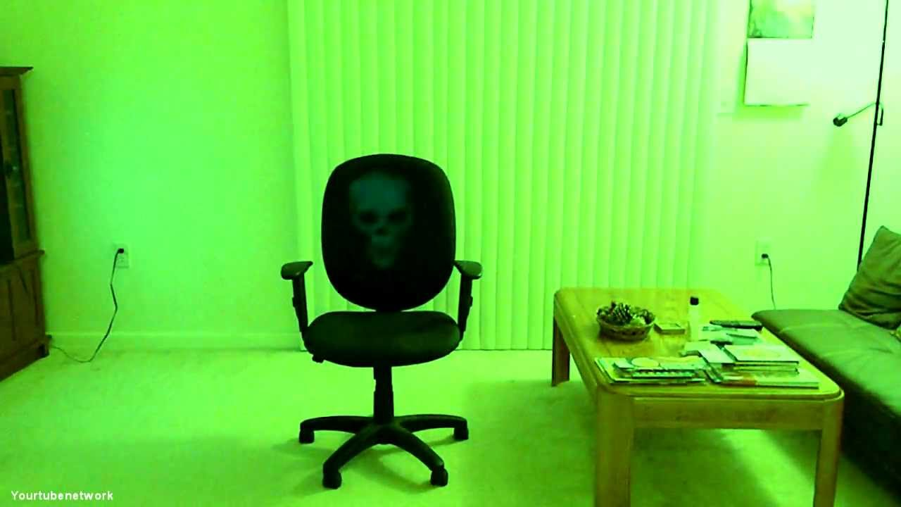 Ghost Caught On Tape In My Apartment, Part 3   Ghost On A Chair!   YouTube