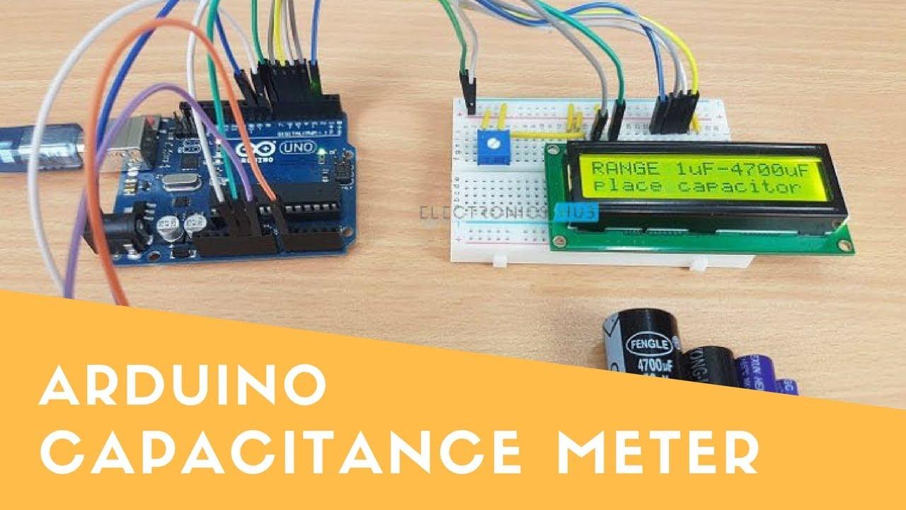 arduino capacitance meter