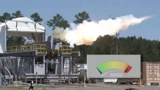 Navy conducts rapid-fire test with electromagnetic railgun