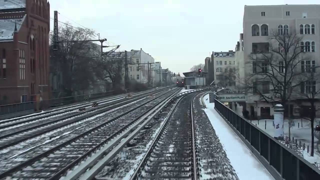f hrerstandsmitfahrt s bahn berlin jannowitzbr cke stadtbahn olympiastadion youtube. Black Bedroom Furniture Sets. Home Design Ideas