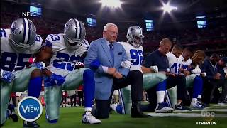 National Anthem Controversy Continues With Steelers, Cowboys | The View