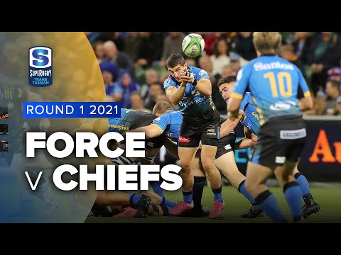 Super Rugby Trans Tasman | Force v Chiefs - Rd 1 Highlights