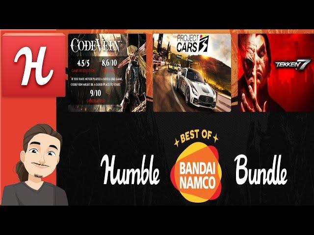 Humble Best of Bandai Namco Bundle || Tekken 7, Tales of Berseria, Katamari, and more