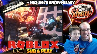 🔴 Roblox LIVE 🦸♂️ 4 Player Superhero Tycoon & More!