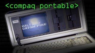 Compaq Portable (Halt & Catch Fire) - Computerphile