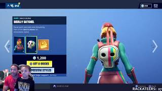 FORTNITE ITEM SHOP UPDATE APRIL 18, 2019 - 'NEW' HOPPER SKIN, SKULLY, MAYHEM, AND MAKI MASTER