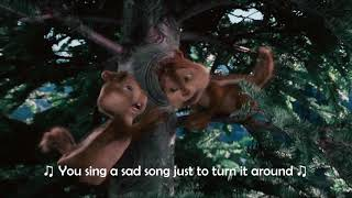 Alvin and The Chipmunks  - Bad Day (Lyrics Video 1080p)