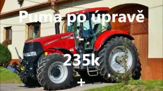 Traktor Chiptuning X tuning  agroekopowerCase Puma 165 -235+37 k John Deere 6210 R 235+30 k