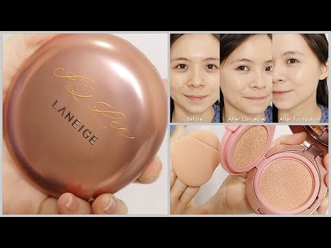This Cushion Comes With A Concealer! \\ Laneige Layering Cover Cushion \\ JQLeeJQ